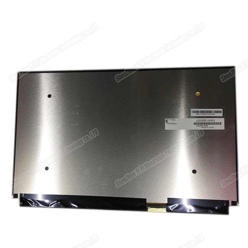 12.5 inch lcd matrix screen For Toshiba Satellite Radius 12 For LQ125D1JW33 UHD 4K LCD screen display