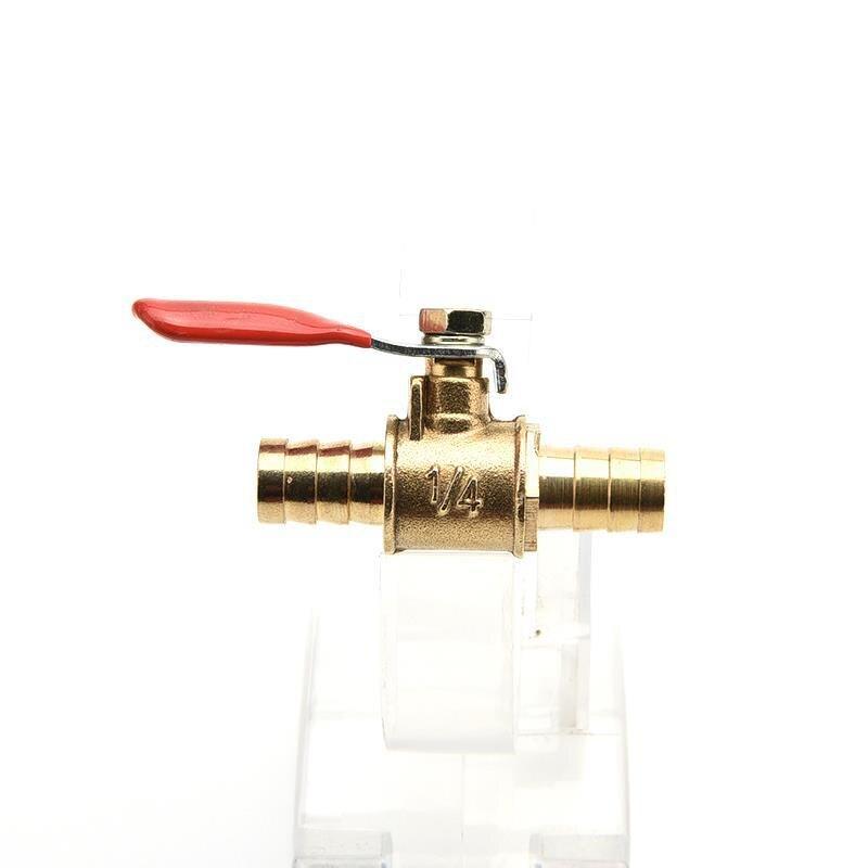 """Válvula de esfera de bronze pex para a tubulação pex fechamento completo do friso do porto valve1/4"""""""