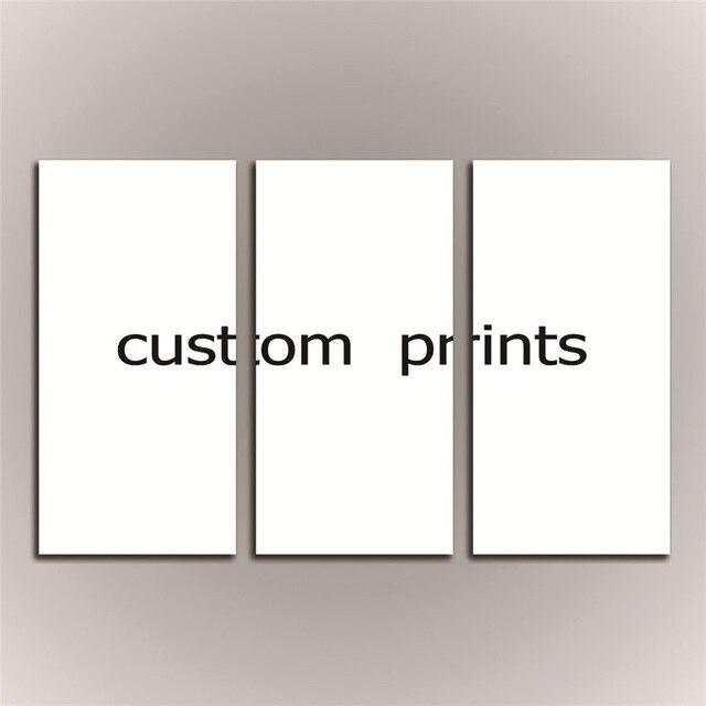 Impresiones personalizadas de tu foto, imagen familiar, imagen favorita 3 uds. Impresión personalizada sin marco en lienzo decoración del hogar regalo único