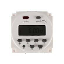 CN101A Programmer AC 12V/24V/110V/220V Digital LCD Power Timer Outlet Switch Programmer Relay 16A timers