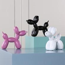 2018 Fashion Ainola Ballon Hond Keramische Hars Ambachten Sculptuur Creative Geschenken Moderne Home Decoraties Standbeelden
