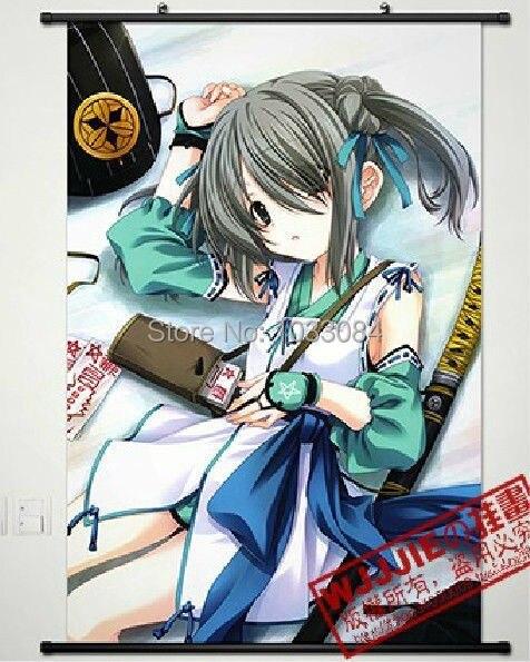 Oda Nobuna no Yabou tela de Anime póster enrollable de pared decoración del hogar