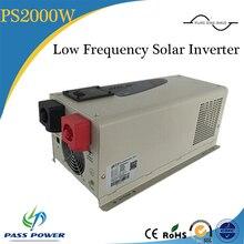 Onduleur chargeur 2000w à onde sinusoïdale pure   Onduleur de puissance, UPS, chargeur solaire, pour le chargement des appareils ménagers