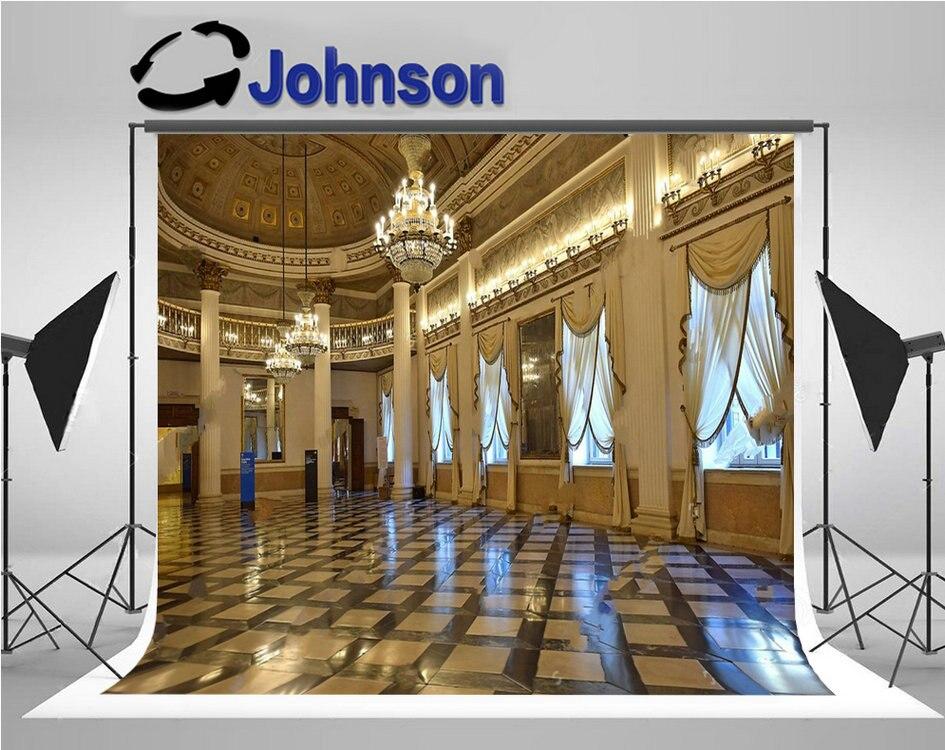 البندقية الإيطالية قاعة الرقص قصر الثريا نافذة الستائر عالية الجودة الكمبيوتر طباعة خلفيات الحائط