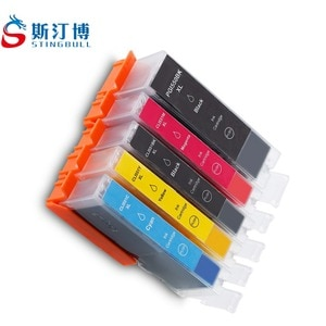 20 PCS PGI-550 CLI-551 550XL 551XL Ink Cartridge For Canon PIXMA IP7250 IP8750 IX6850 MG5450 MG6350 MG7150 MX725 MX925 With Chip