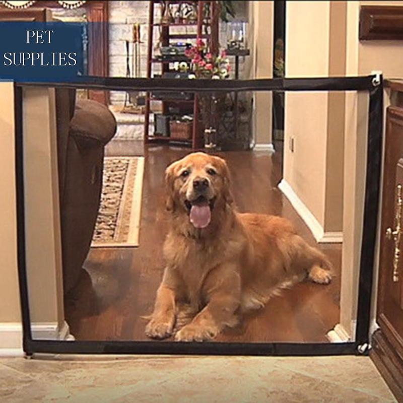 Портативный складной дышащий сетчатый защитный ограждение для собак, изолированный ограждение для собак, защитные принадлежности для собак