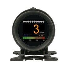 AUTOOL X60 автомобильный Умный Цифровой Мультифункциональный измеритель, дисплей, измеритель скорости, датчик температуры воды, Ранняя сигнализация, автоматический считыватель кодов неисправностей