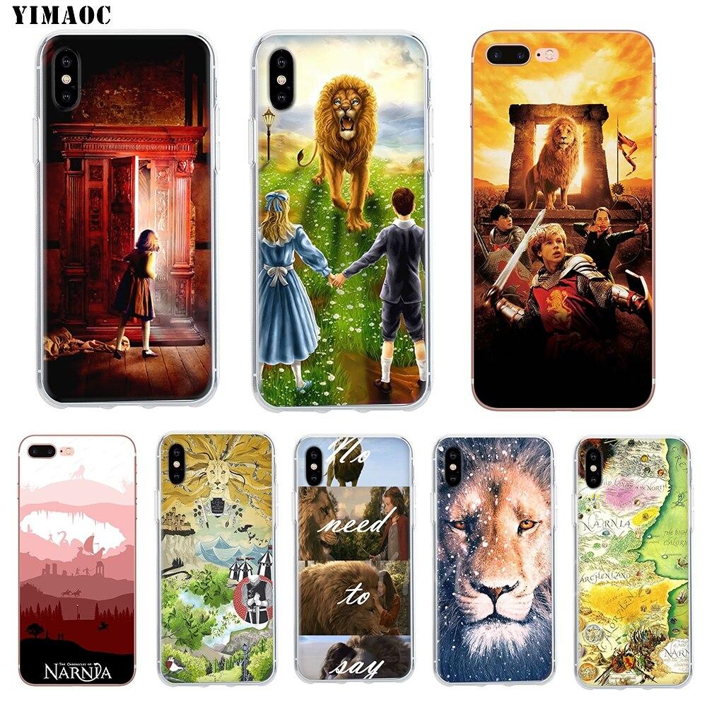 YIMAOC las crónicas de Narnia suave caja TPU silicona funda para iPhone 8 7 6 6S Plus 5 5S SE X XR XS 11 Pro Max Shell casos