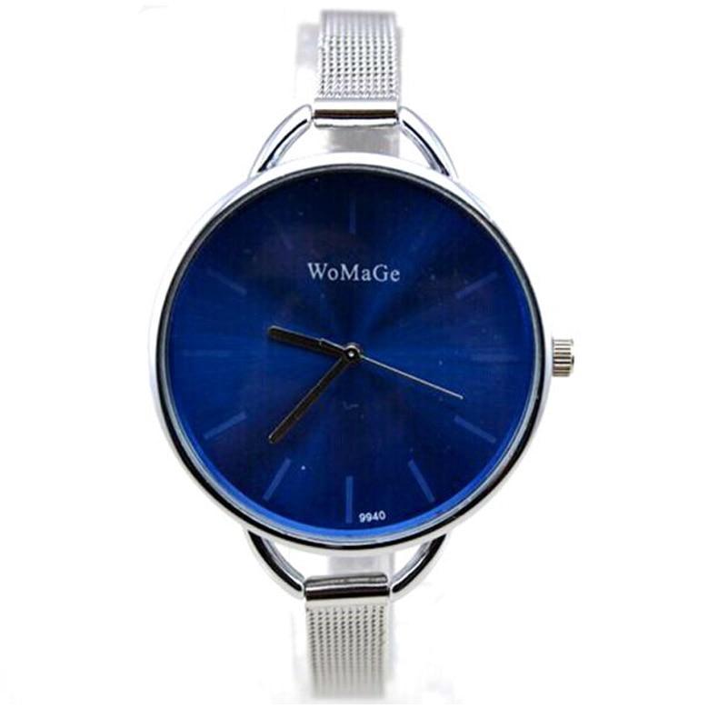 luxury brand watch women fashion wristwatches quartz clock girl slim steel band dress watches hours reloj mujer relogio feminino