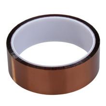 Rubans adhésifs en Polyimide haute température   Pour PCB, bande adhésive résistante à la chaleur 30mm x 30m AA