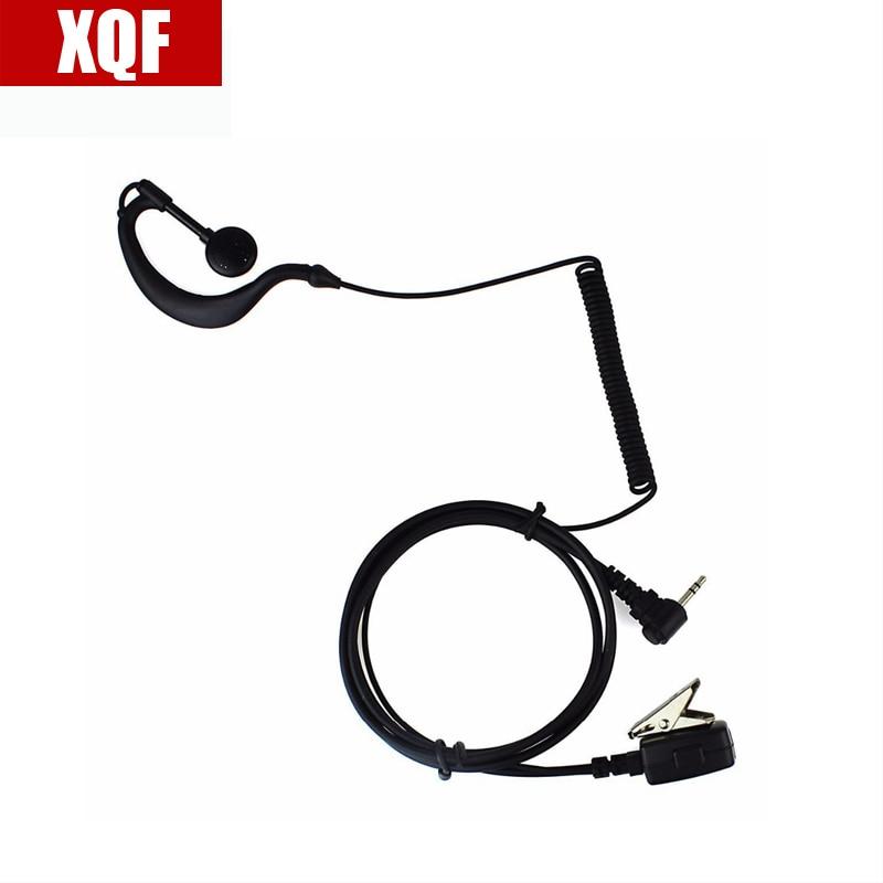 Auriculares XQF 10 Uds negro 1 Pin PTT MIC para Motorola Radios T5700 T5920 T5950 T7200