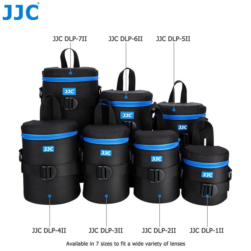 JJC Deluxe камера водонепроницаемая сумка для объектива чехол для Canon Sony Nikon Olympus Panasonic Fujifilm JBL Xtreme мягкий DSLR полиэфирный чехол