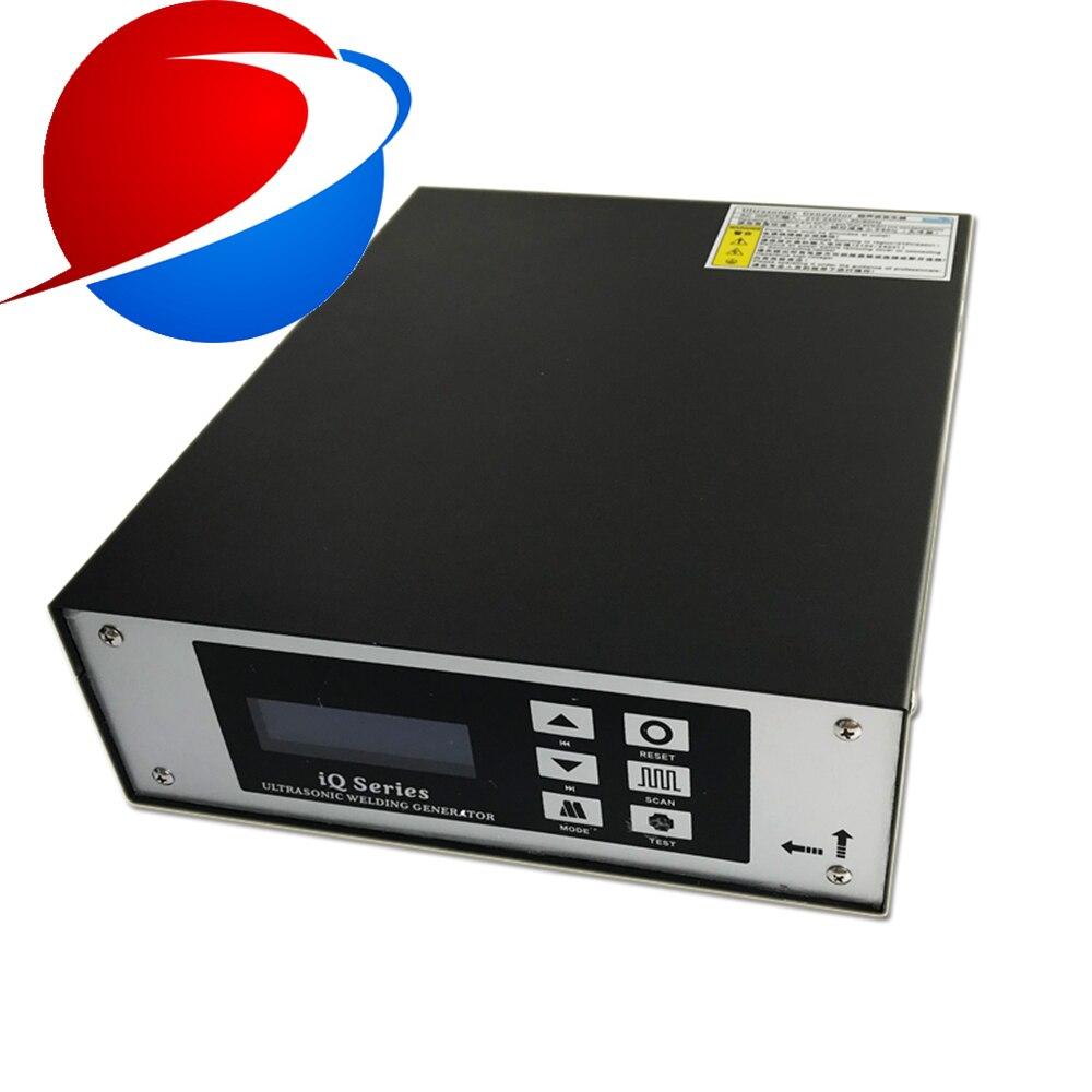 Generador de plástico de soldadura ultrasónica de 2000 w 20 khz para plásticos automotrices y piezas de plástico industrial máquina de soldadura