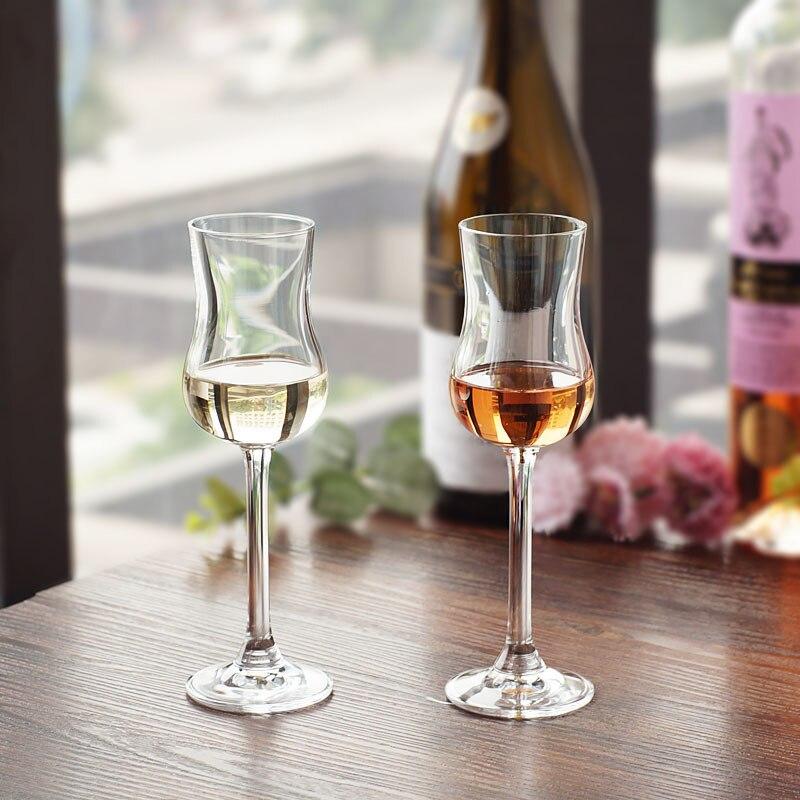 Vaso de cristal checo para vino espumoso, Copa con olor a Copa, Whisky, licor de tulipanes