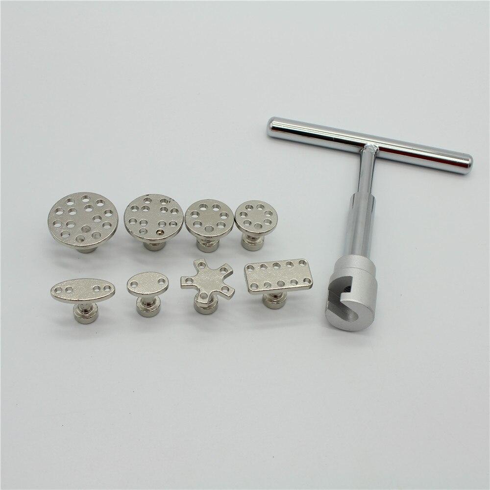 Автомобильный набор инструментов Ferramentas набор вмятин удаление вмятин Инструменты для ремонта Алюминий Инструмент для извлечения клея вкла...