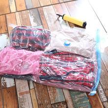 Sac de rangement sous vide compressé Extra Large   Sac Transparent compressé, organisateur compressé permettant de gagner de lespace, sacs scellés
