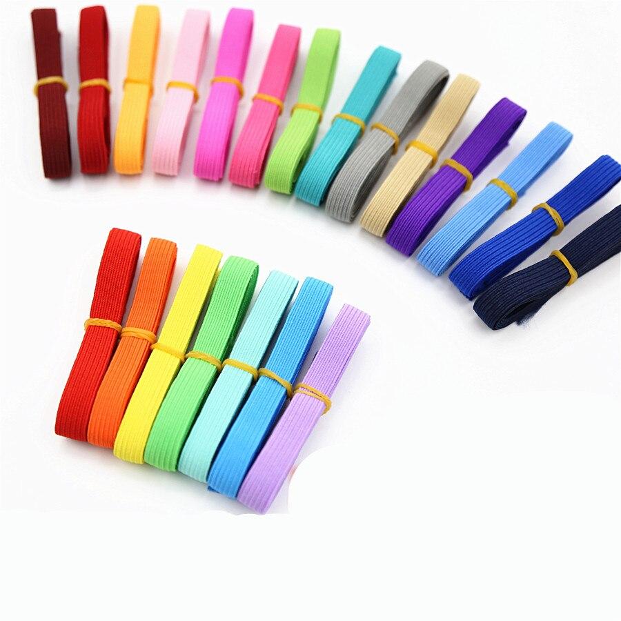Fita elástica para costura diy, faixa elástica para costura e cinto feito à mão, largura 10mm