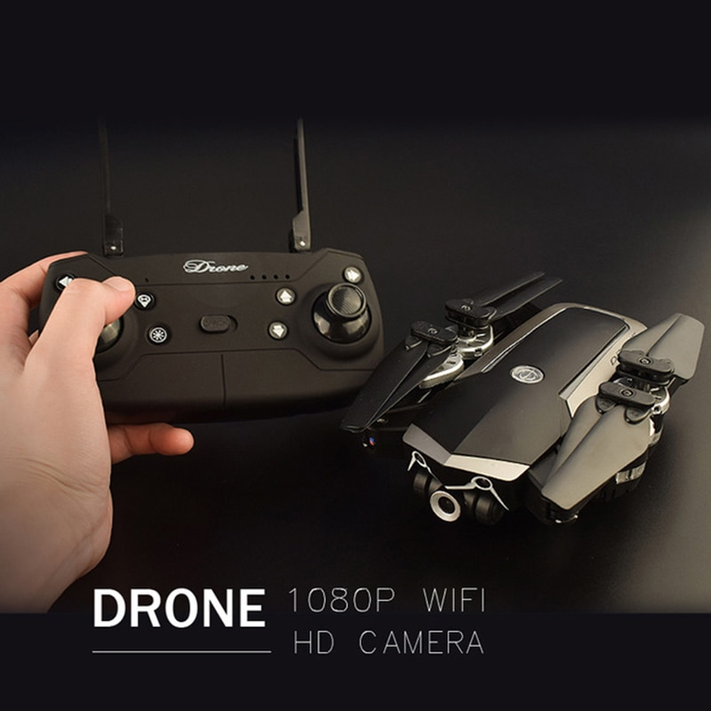 Drone With HD 1080P Wi-fi Professional Hovering Camera Racing 5MP Folding Quad Copters FPV RC Helicopter Toy Storage Bag for Boy enlarge