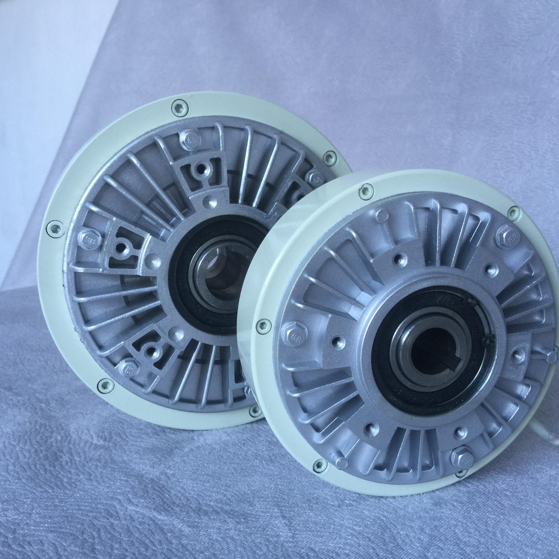 Полый вал тормоза 0,6-40 кг магнитный порошок сцепления 24V регулятор напряжения воздуха расширительный вал двигателя порошковый тормоз