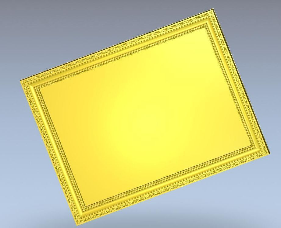 Relieve de modelo 3d para cnc en formato de archivo STL Frame_7