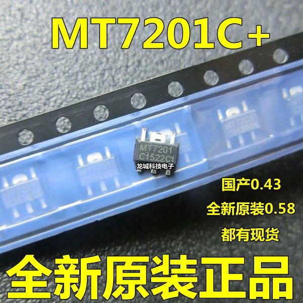 10 pçs/lote MT7201C MT7201 7201C SOT-89-5 Em Estoque