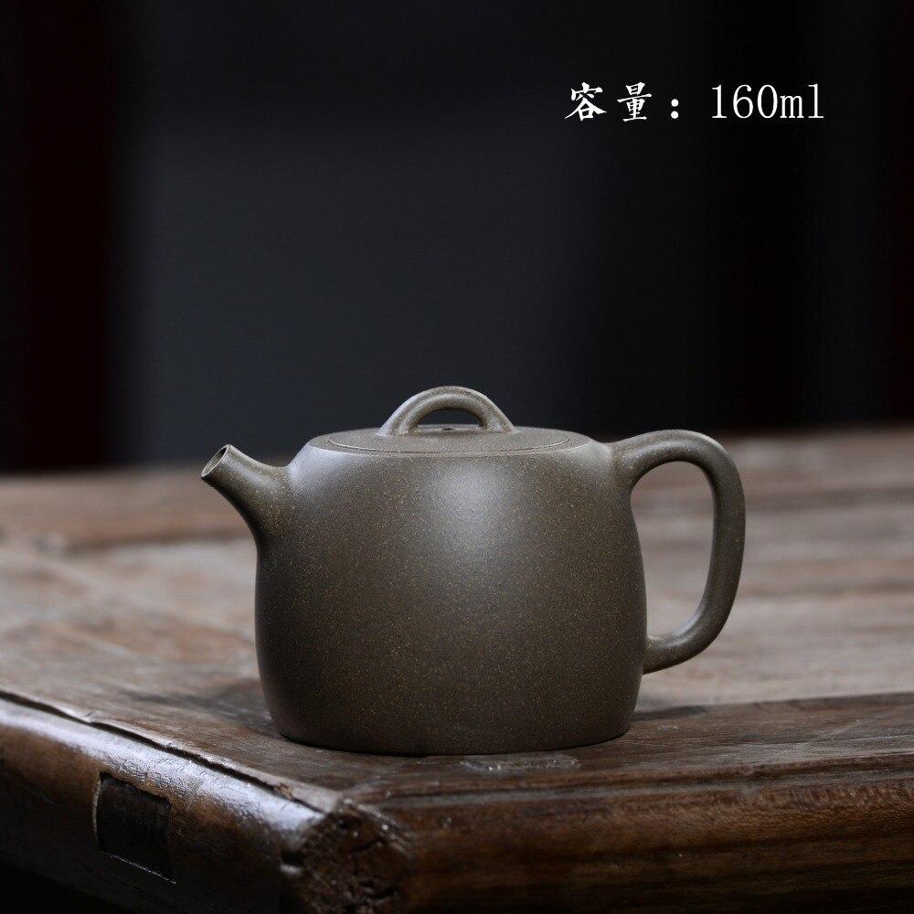 160ml Authentic Zisha teapot Yixing famous handmade purple mud Jinglan Kung Fu tea kettle tea gift set Custom
