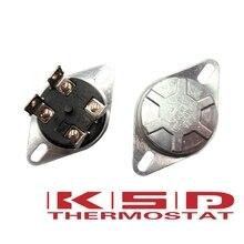 KSD302X 75 85 92 93 95 105C grados Celsius 20A250V interruptor de temperatura Bipolar de 4 pies termostato de calentador de reinicio Manual