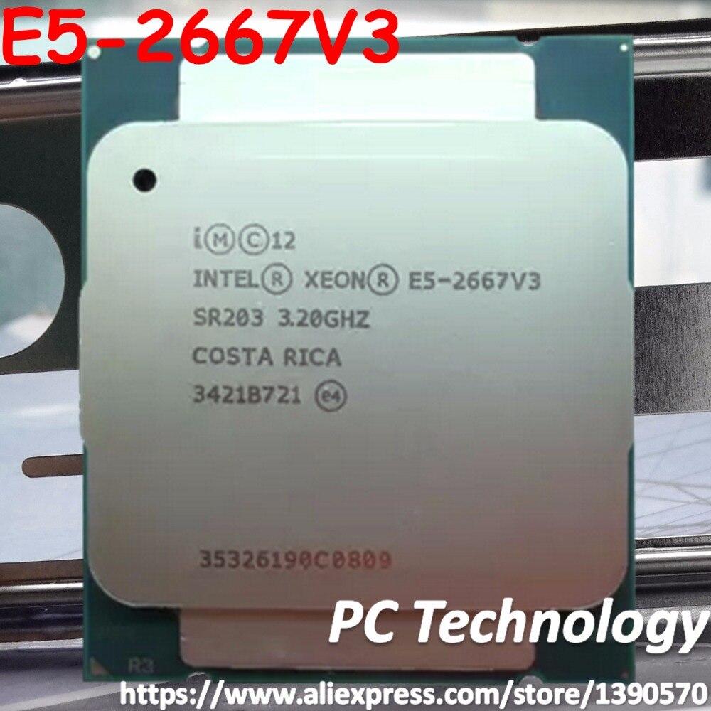 Оригинальный процессор Intel Xeon OEM verison E5-2667V3 E5 2667V3 3,2 ГГц 8 ядер 20 м LGA2011-3 135 Вт 1 год гарантии E5 2667 V3
