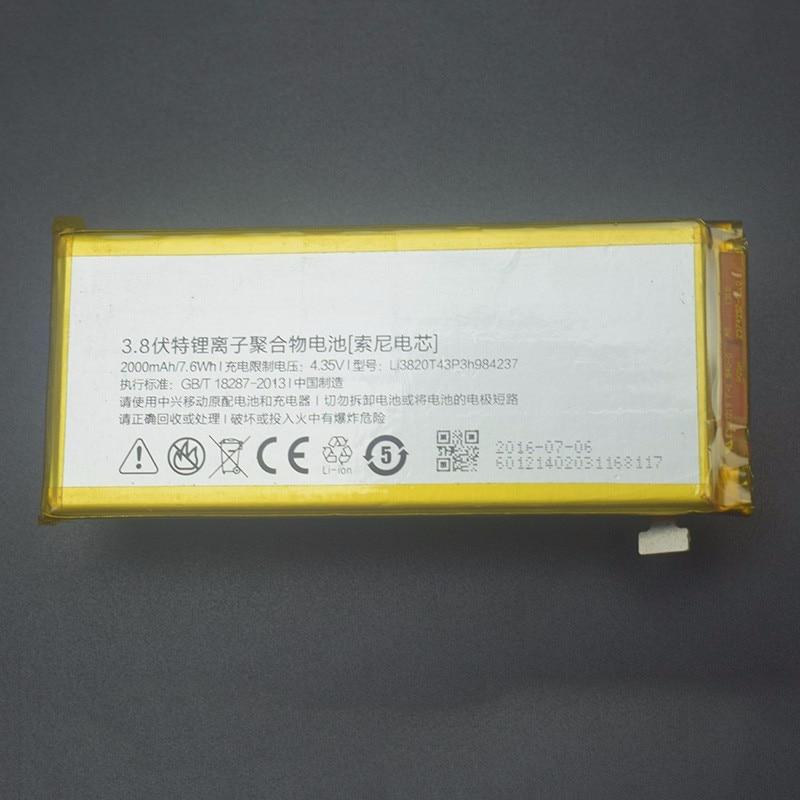 ZTE Nubia Z5S mini batería de alta calidad 2000MAH Li-ion Li3820T43P3h984237 para Nubia Z5S mini NX403A