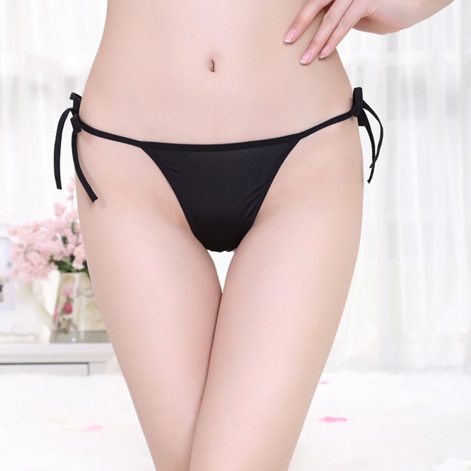 Quentes sensuais mulheres tanga calcinha cintura baixa g corda perspectivity bandagem mulheres underwear lingerie tanga