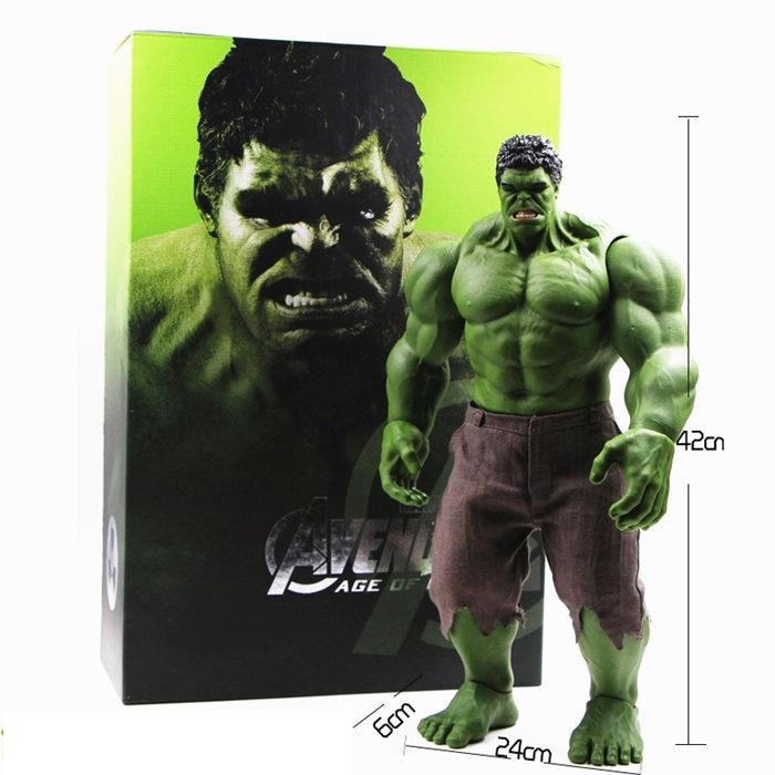 Горячие Мстители Невероятный Халк Железный человек Халк Бастер халкбастер 42 см ПВХ игрушки фигурка Халк Smash