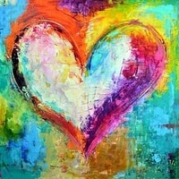 5d diy landscape diamond painting full squareround drill color heart 3d rhinestoneembroidery cross stitch gift home