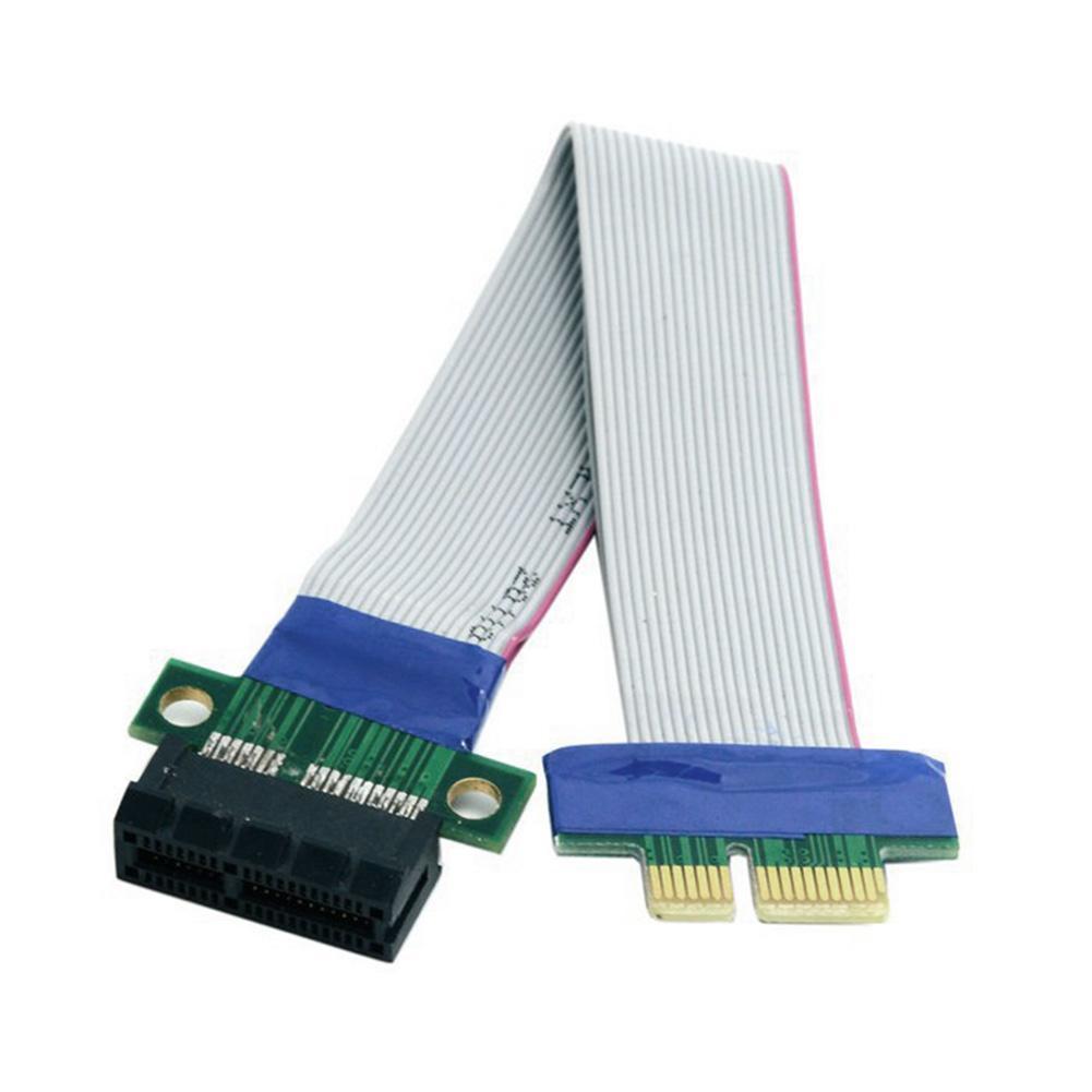 Sale PCI Express 1X Male Female Riser Card Extend Adapter Cable Converter Flex Cord