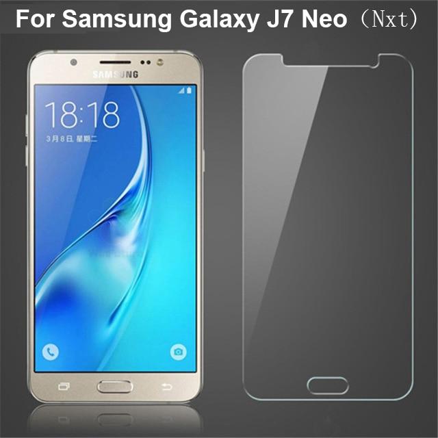 Para Samsung J7 Neo Protector de pantalla para Samsung Galaxy J7 Neo película de vidrio templado para Samsung Galaxy J7 Nxt duos J701F DS