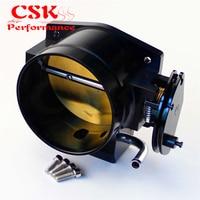 THROTTLE BODY 102MM Fits For LS1 LS2 LS6 LS3 LS LS7 SX LS 4 CNC BOLT CABLE Black
