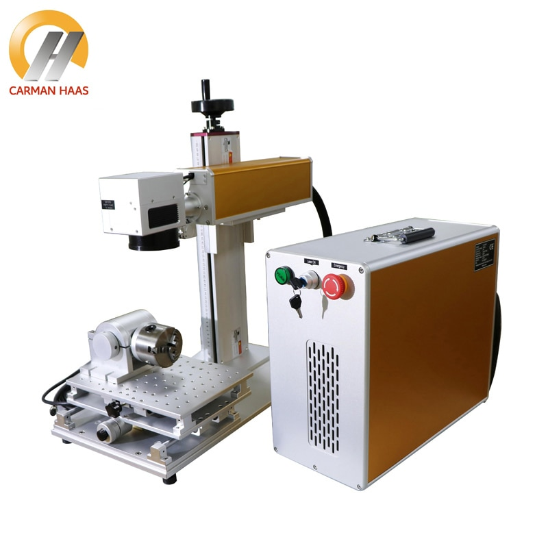 CE Certificate 20W Fiber Laser Marking Machine Ring marking Machine  marking Fiber Laser Marking Machine