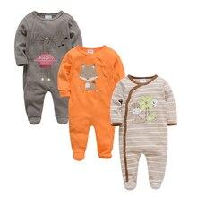 Kavkas-vêtements pour bébés   Manches longues, en coton, vêtements dété et dautomne 2018, pour nouveau-né, garçon et fille
