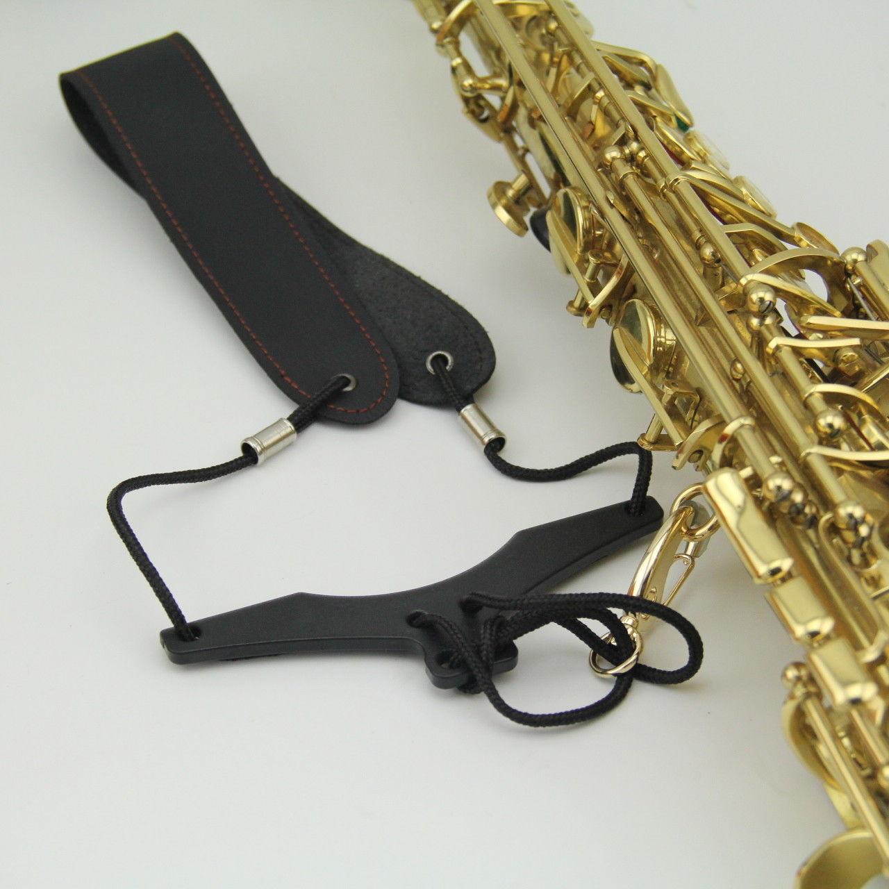 Novidades Black Nylon Sling Ombro Pescoço Cinta Sax 12 Pcs