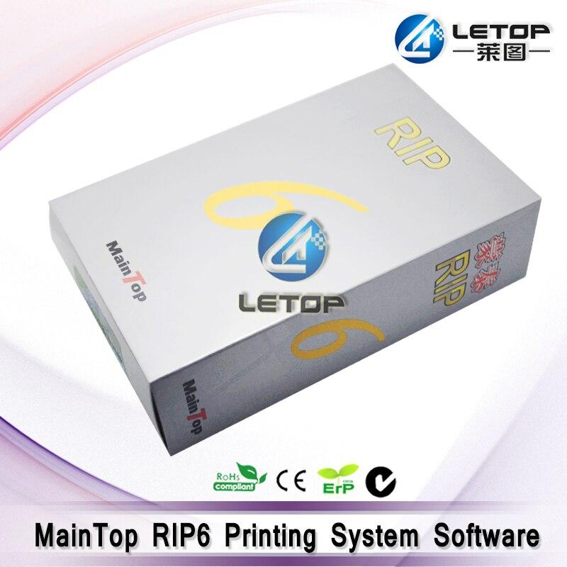 Software Rip Maintop versión 6,0 para impresora Uv