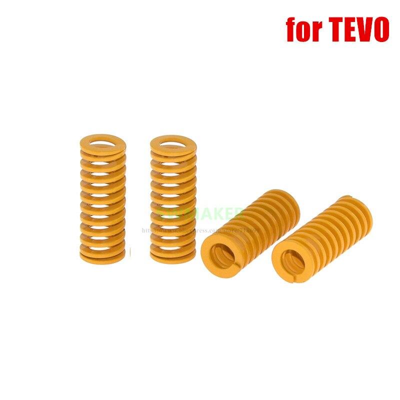 1pcs Orange Spring height 35mm High Elasticity For Heated bed TEVO Tarantula Series 3D Printer Parts
