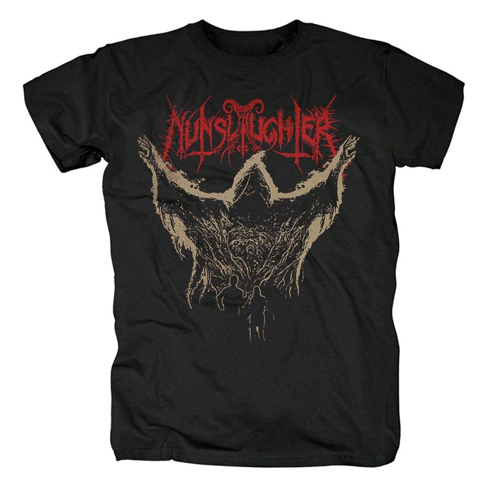 Camiseta de algodón con estampado 3D de Demon Hardrock heavy Death, ropa...