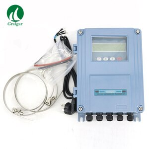 New TDS-100F-S2 Fixed Ultrasonic Flowmeter DN15-100mm TDS-100F Wall-Mount Flow Meter with Fast Shipping