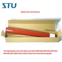 1PC High Qualiy Metal Fuser Film Sleeves for Ricoh MPC3001 MPC3501 MPC4501 MPC5501 MP C3001 C3501 C4501 C5501 Fuser Film Belt
