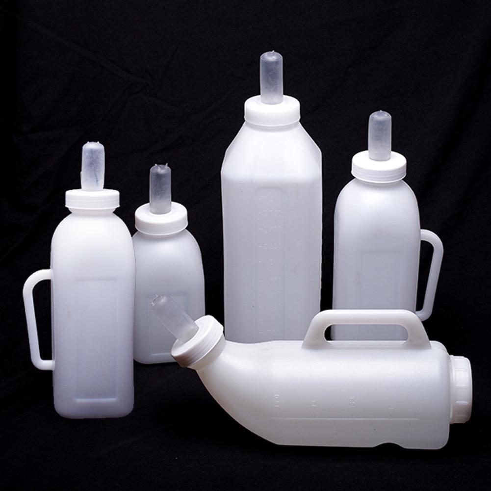 Milk Bottles Calves Goat Milk Bottles Milk Cups Vertical and Horizontal Plastic Bottles 1L2L3L Animals Cows Cattle Calf Silicone