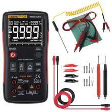 ANENG Q1 true-rms dijital multimetre esr metre düğme 9999 test cihazları otomotiv elektrik kondansatör test cihazı dmm transistör test cihazı