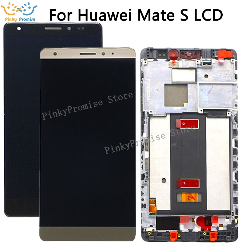 Huawei Mate S pantalla LCD de montaje de digitalizador con pantalla táctil CRR-L09 CRR-UL20 para Huawei Mate S pantalla LCD con marco de