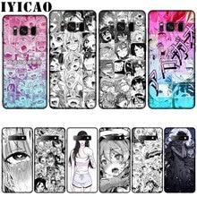 Anime mädchen cartoon japan Silikon Weiche Telefon Fall für Samsung Galaxy S20 S10 S9 S8 Plus Lite Ultra S6 S7 rand S10e E Abdeckung