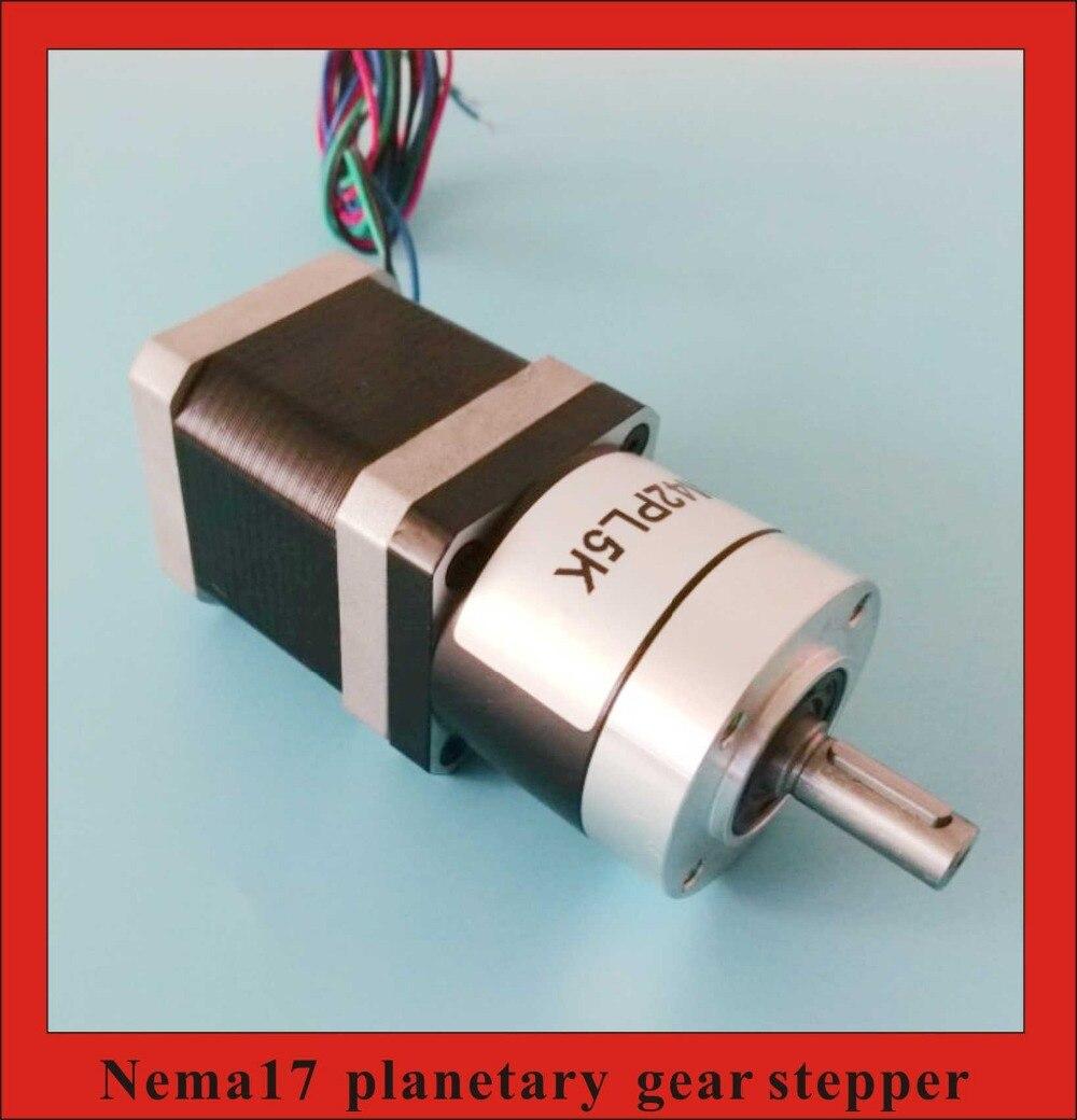 100 1 Nema17 engranaje planetario paso a paso reductor epicíclico paso a paso longitud del Motor 34mm