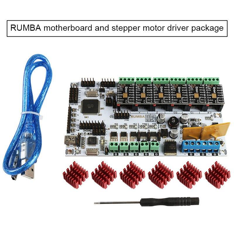 Placa de Processador 2560-r3 para Mks Integrado Rumba Inteligente Controlador Display Qjy99 Tft