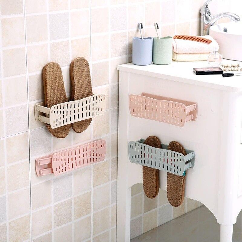 Новый 1 шт. проветрить подставка для обуви настенный Тип клей вешалка хранения